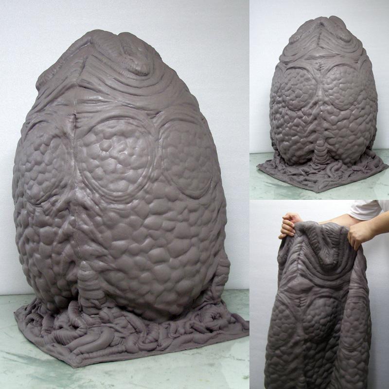 The Midas Touch A K A 3dwizart Life Size Raw Alien Egg