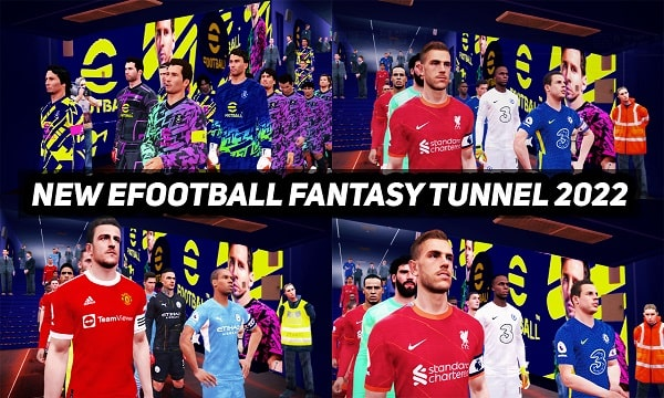 PES 2017 New eFootball 2022 Fantasy Tunnels