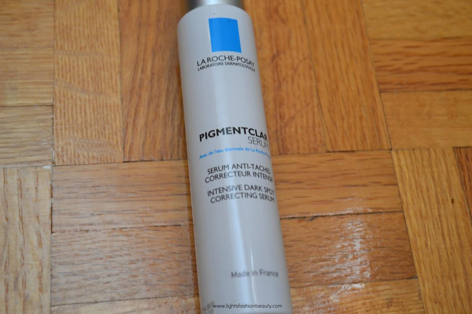 La Roche-Posay Pigmentclar Serum, skincare serum for dark spots, acne scars serum, La Roche-Posay Pigmentclar Serum on dark skin, canadian beauty blogger