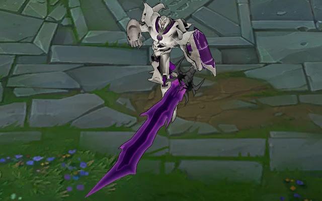 Mod Skin Aatrox Lord Megatron 2