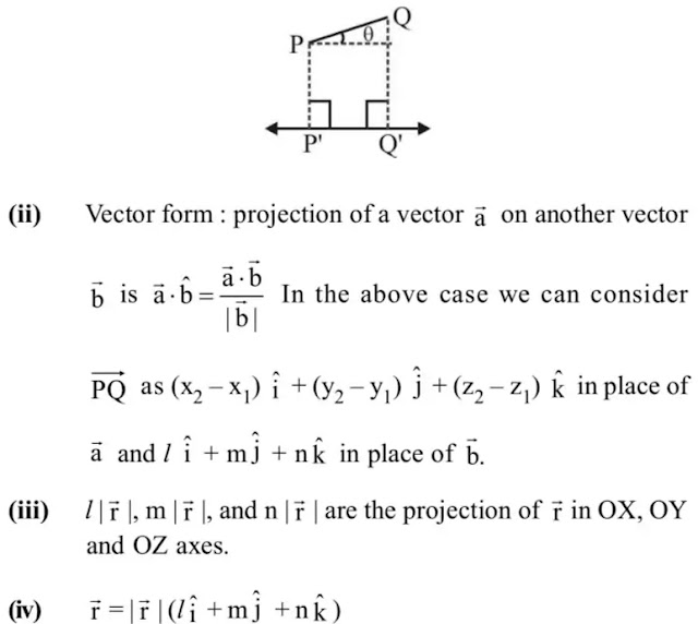 12 class Maths Notes Chapter 11 Three Dimensional Geometry free PDF| Quick revision Three Dimensional Geometry Notes class 12 maths