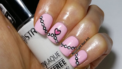 Heart Nail Art Tutorial for Valentine's Day