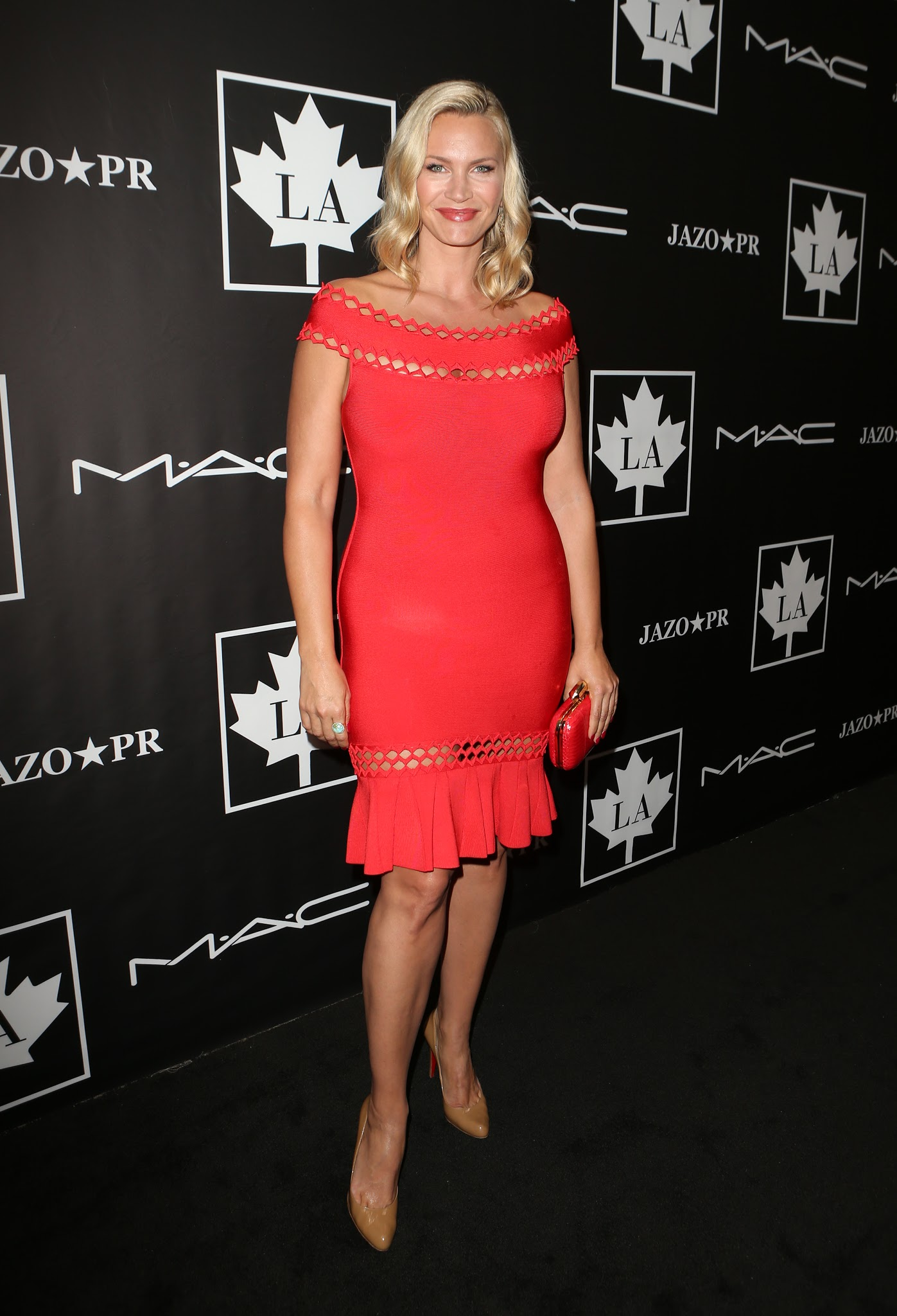 The Toe Cleavage Blog: Red - Natasha Henstridge