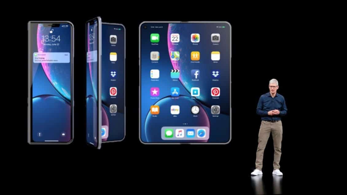 When can you see Apple's foldable iPhone?
