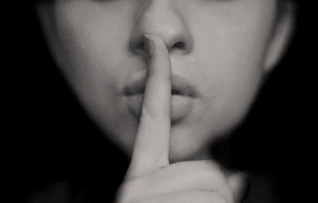 Hush! Silence.