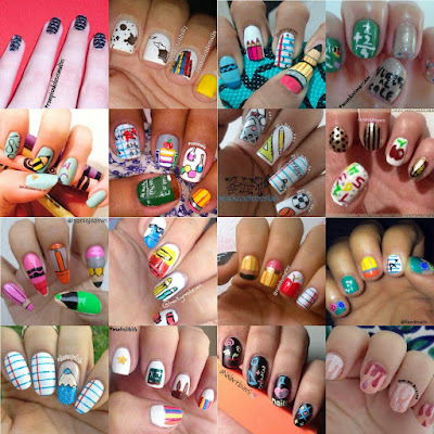 Nail art: Collab regreso al colegio!