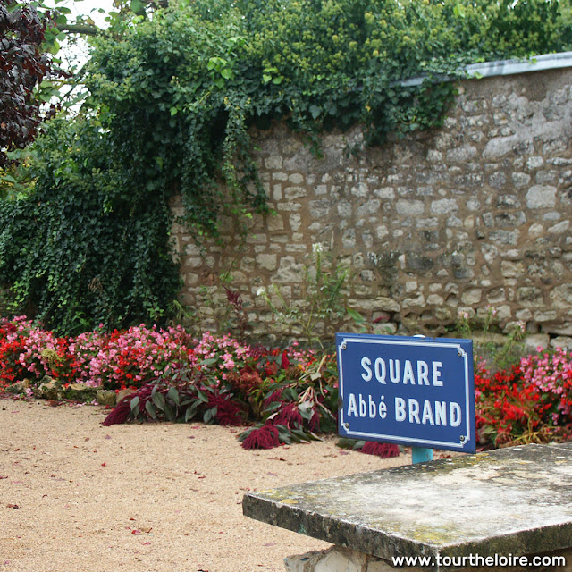 Square Abbe Brand, La Roche Posay, Vienne, France. Photo by Loire Valley Time Travel.
