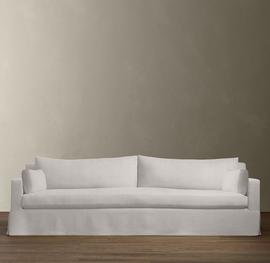 Petite Belgian Track Arm Slipcovered Sofa Anton Reclining 2 Seater Let S Talk About My White But I D Forgotten Own Previous Experience With A Nonwashable Which Is It Not The Stains That Get You Because They Can Usually Be Worked Out