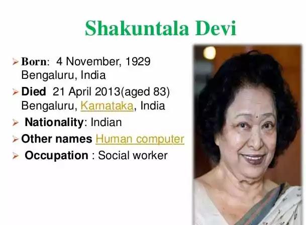 Shakuntala-Devi-Biography