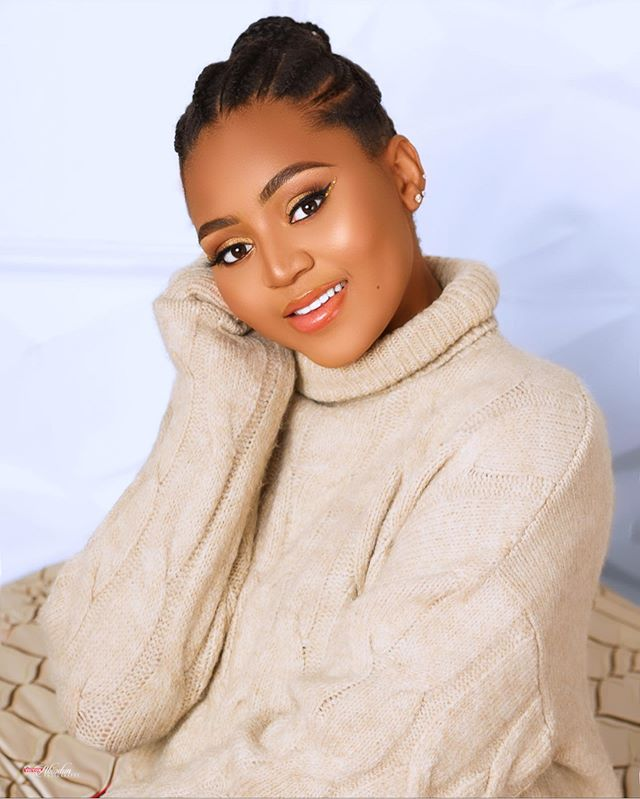Billionaire's wife, Regina Daniels stuns in new photos