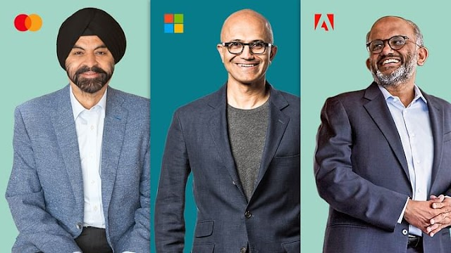 The CEO of Microsoft, Adobe and MasterCard attended the same school in Hyderabad, India.