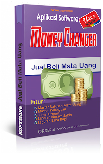 Jual Aplikasi Software Money Changer Murah