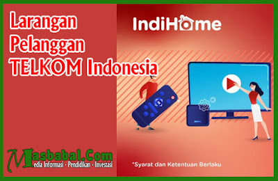 Larangan bagi Pelanggan TELKOM Indonesia