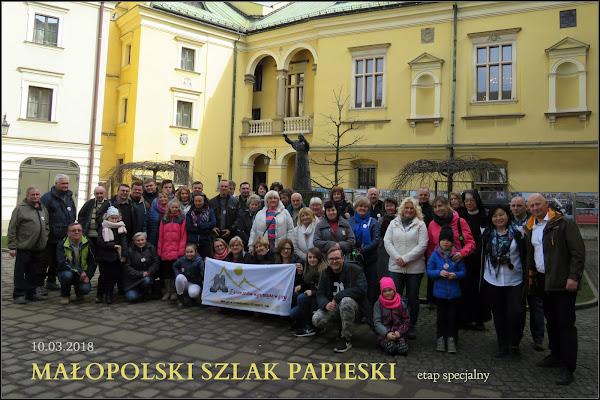 Dziedziniec Pałacu Arcybiskupów Krakowskich.