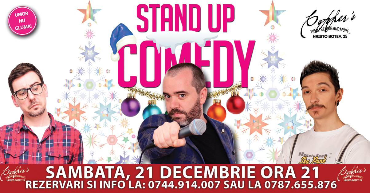 Stand-Up Comedy Decembrie 2019 Bucuresti