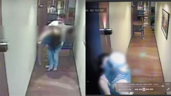 Valentine Rosales confirms he was seen in the CCTV footage