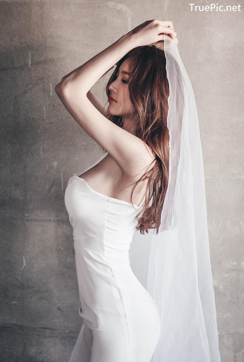 Image Korean Fashion Model - Park Jung Yoon - Wedding Dress Set - TruePic.net - Picture-10