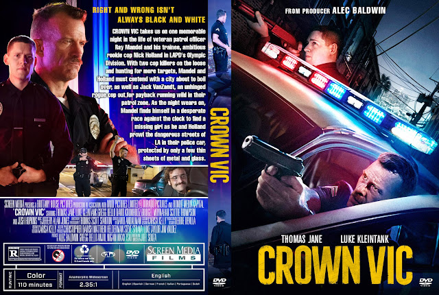 Crown Vic DVD Cover