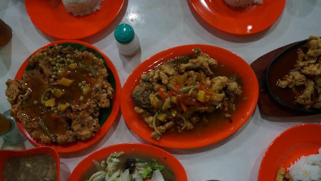 Menu Serayu Seafood Pontianak