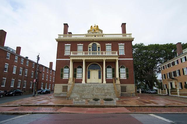 House of the seven Gables e Salem Maritime National Historic site-Salem