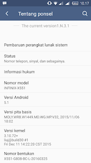 [ Cusrom ] Xui 3.1 Infinix For Evercross A66A LP
