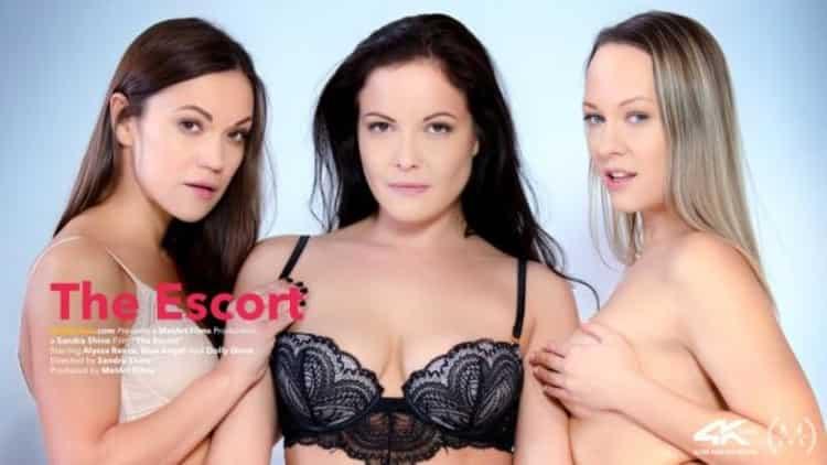 Alyssa Reece, Blue Angel And Dolly Diore in The Escort - Viv Thomas