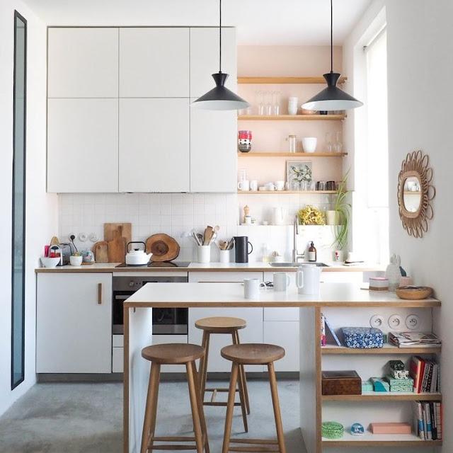 Desain Dapur Minimalis Modern Ukuran Kecil tapi Cantik Terbaru