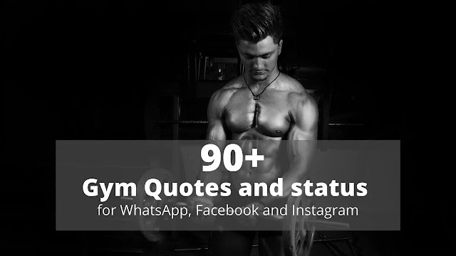 whatsapp gym status in hindi