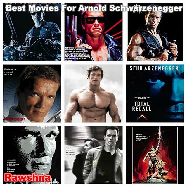أفضل أفلام أرنولد شوارزنيجر على الاطلاق