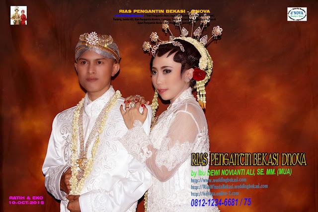 Rias Pengantin SOLO PUTRI - Sanggar Make Up Rias Pengantin Bekasi dNova Bekasi Utara - Ratih & Eko (1)