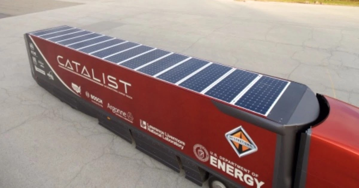 Newly Designed Solar-Powered Refrigeration Trucks Cut Carbon Emissions From Idling Diesel Engines