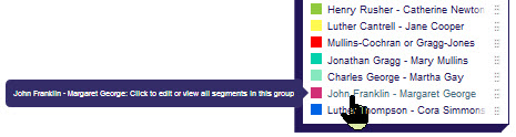 View group in DNA Painter