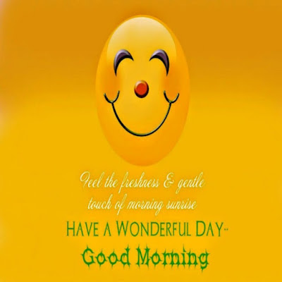 smiley face for good morning whatsapp image