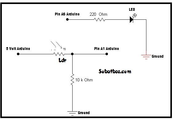 LDR dan arduino