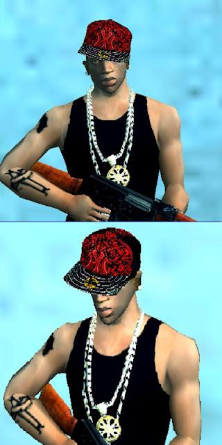 boné aba reta ny hip hop swag roupas gta sa