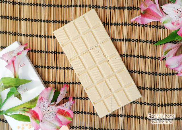 Шоколад Okasi с кинако  - отзыв