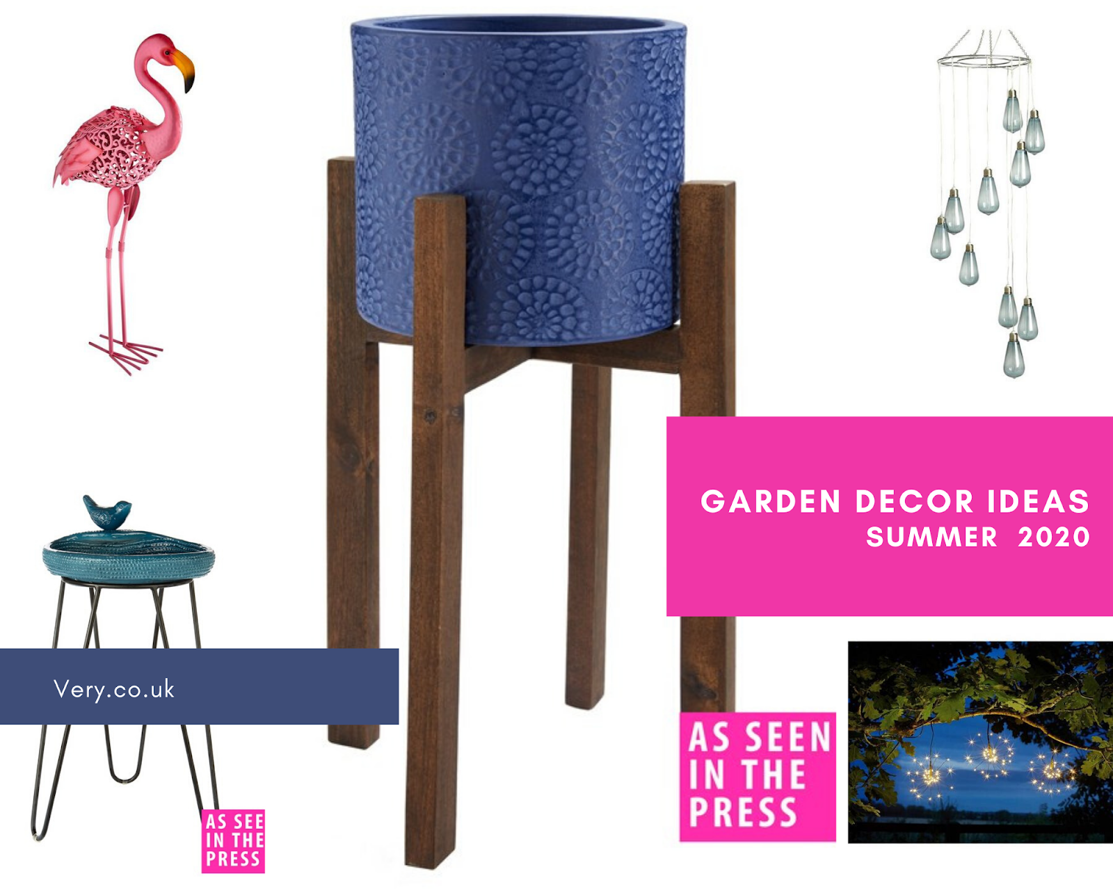 8 Easy Ways to Have Fun in your Garden this Summer  - garden decor ideas from very.co.uk