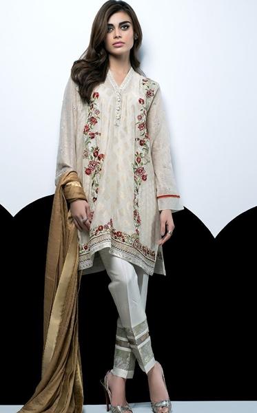 Sania Maskatiya SHADES OF AUTUMN Eid Collection 2016-17