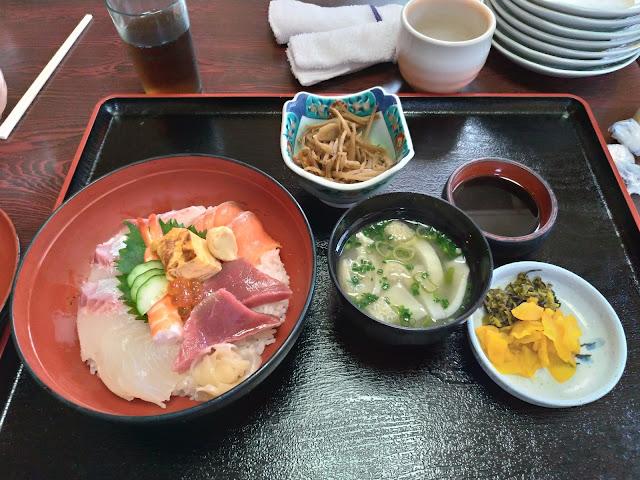 海鮮丼 久坊