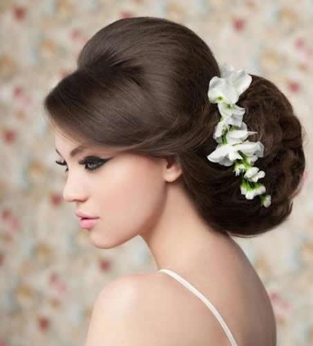 Peinados novia glamour