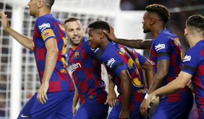 ماذا كسب البارشا في مباراة برشلونة ضد فالنسيا