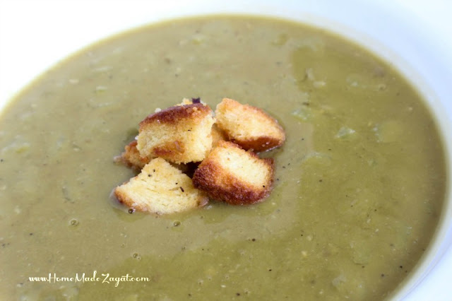 Easy Split Peas soup recipe