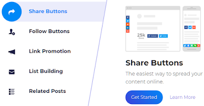 Membuat tombol share addthis