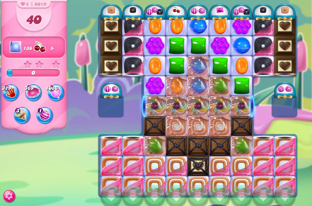 Candy Crush Saga level 9019