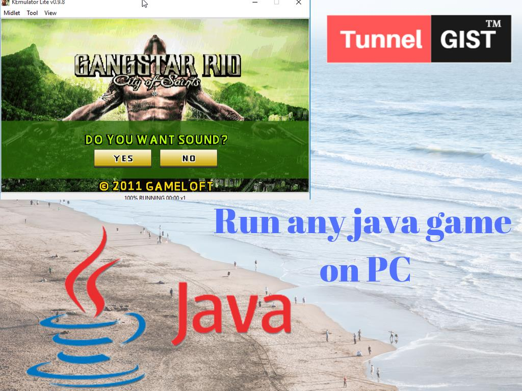 How to run any java games on your PC