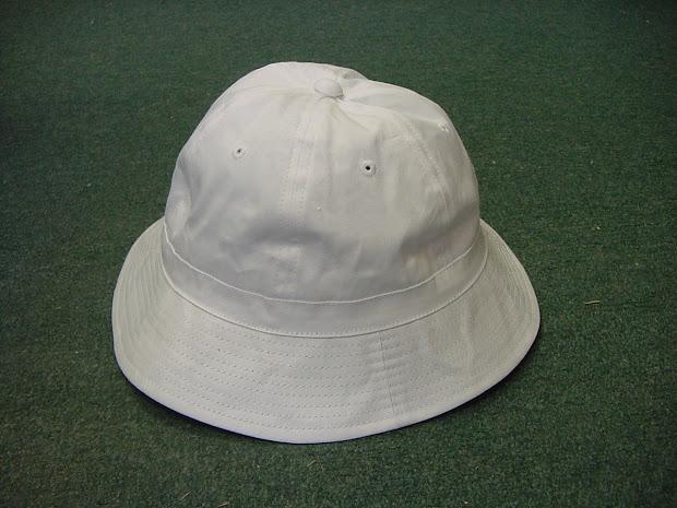 Tartan Terrier Classic White Tennis Hat