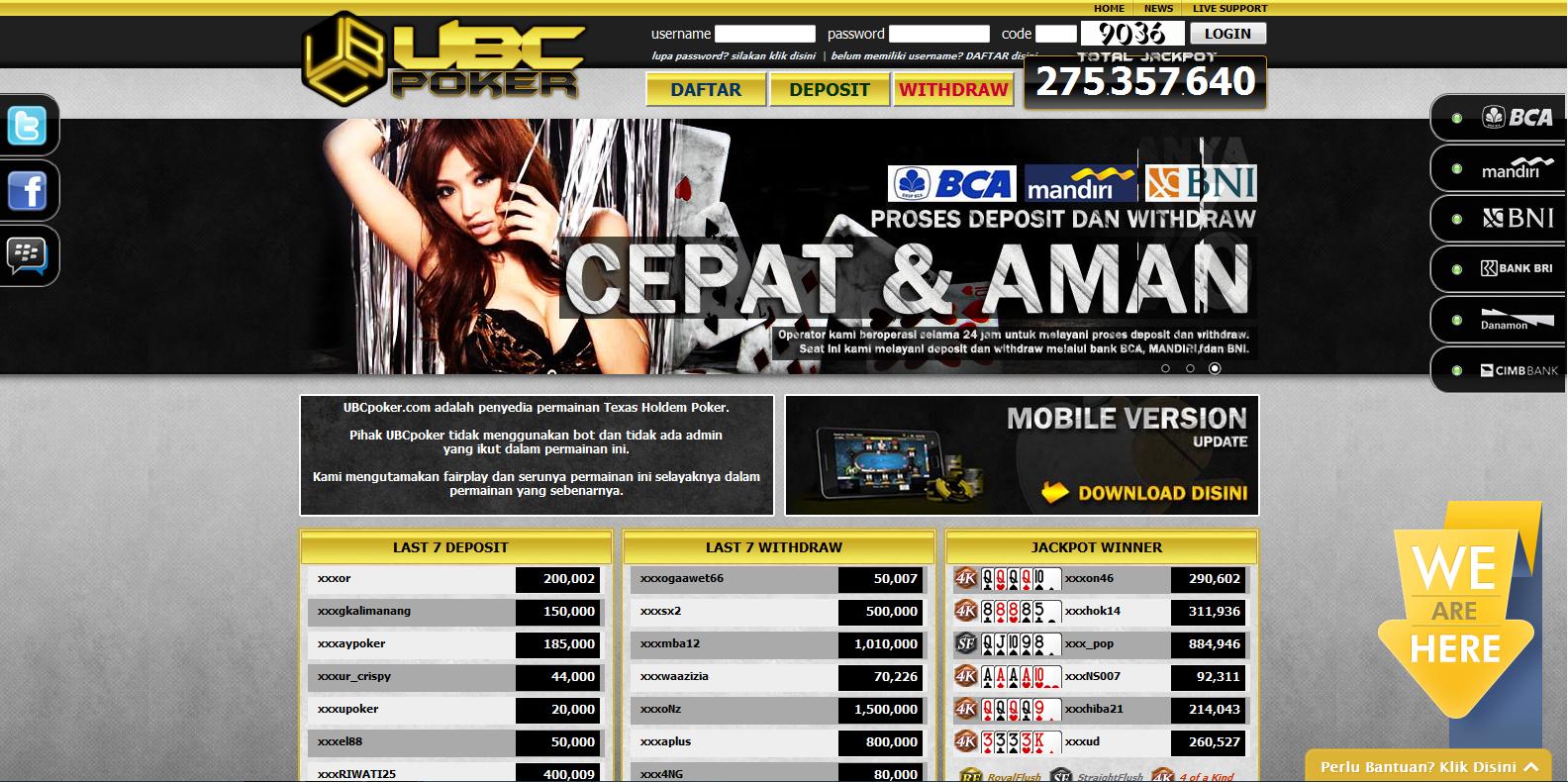 Ubc Poker Terpercaya Dan Poker Uang Asli Terbaik Poker Uang Asli Terbaik