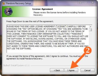 recovery software install