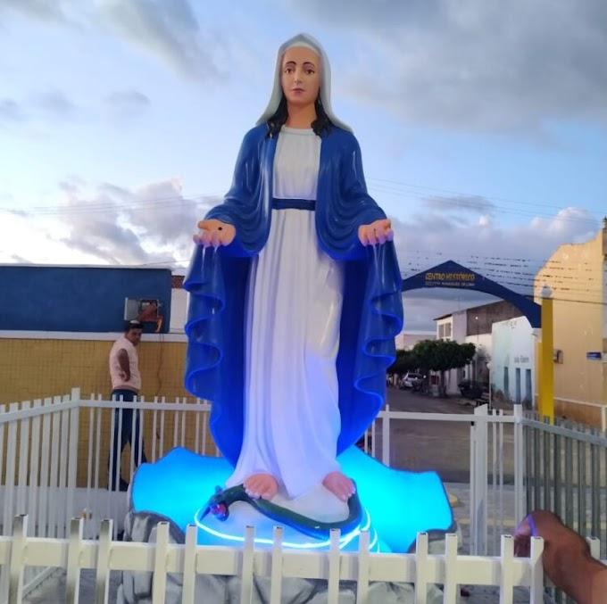 Monumento de Nossa Senhora das Graças será inaugurado nesta terça-feira em Ouro Velho