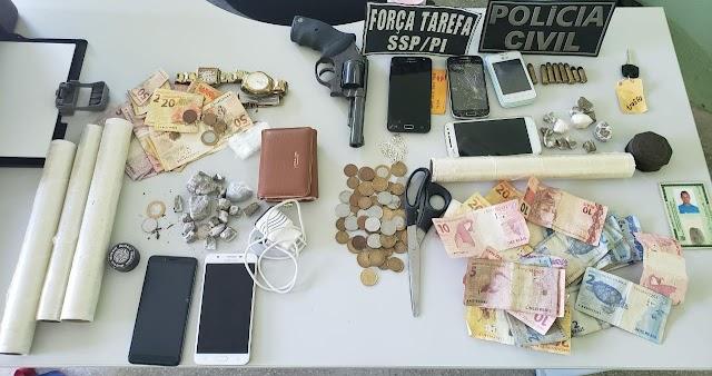 Três pessoas são presas durante operação policial em Campo Maior